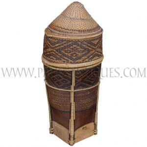 Vintage Basket from Southern Thailand