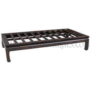 Custom Reclaimed Teak Chinese-style Bed / Daybed