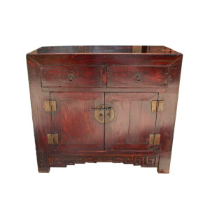 Chinese Elm Sideboard Cabinet