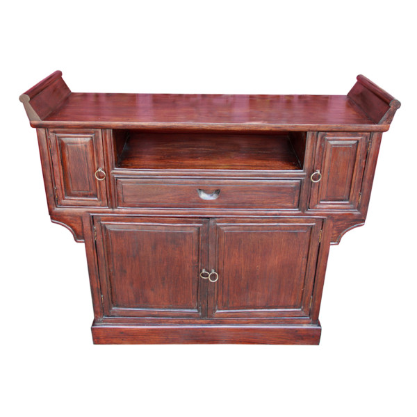 Custom-made Chinese-style Reclaimed Teak TV Stand