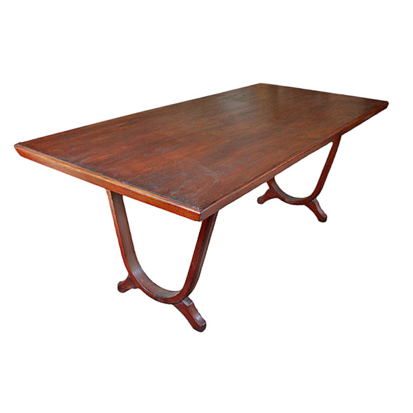 Art-Deco Teak Dining Table