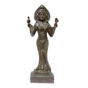 Burmese Bronze Four-Armed Avatar of Hindu God Vishnu