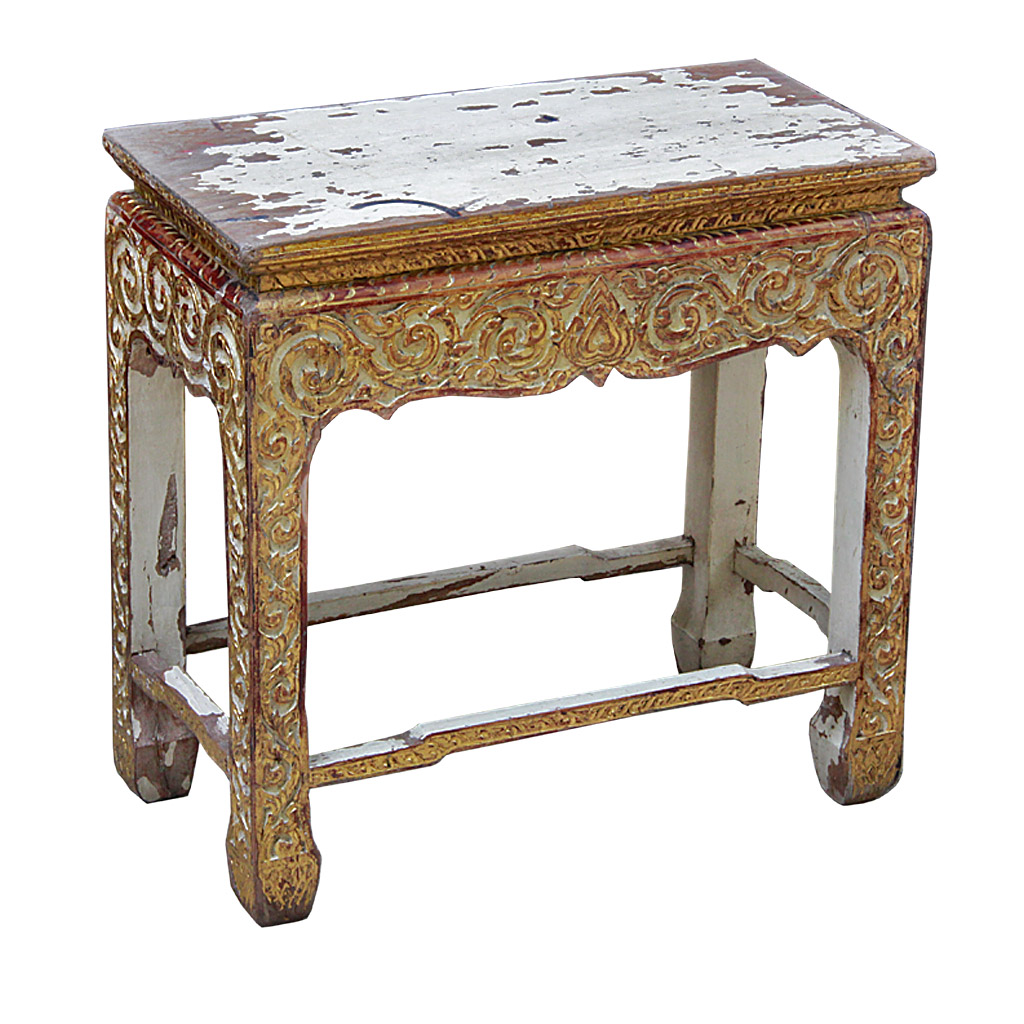 ... Altar Table With Original Paint Remnants. ฿ 12,000