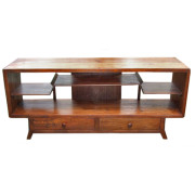 Custom Art-Deco Style Teak TV Cabinet