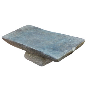 Antique Khmer Grinding Stone/Mortar Base