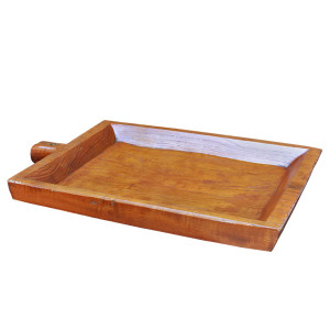 "Northern Thai Teak Sticky Rice Tray (""kraboam"")"