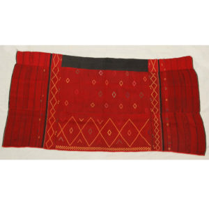 Labu Jinpho Kachin, North Burma, Hip Wrapper with Decorative Lozenge Motif, c. 1940s