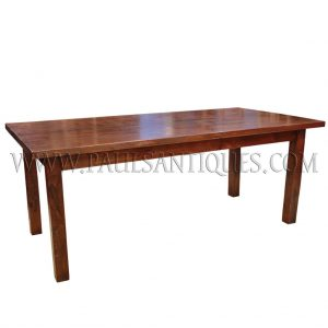 Custom-made Solid Reclaimed Teak Dining Table