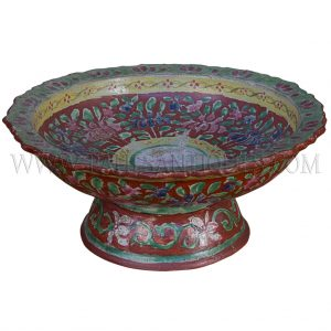 Thai Rattanakosin Benjarong Stem Bowl
