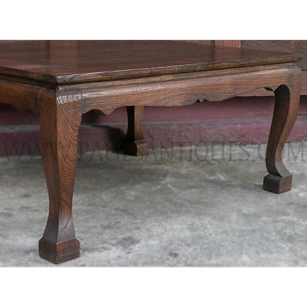 """Thai Teak Coffee Table: Thai Teak """"Khu Muu"""" Coffee Table"""
