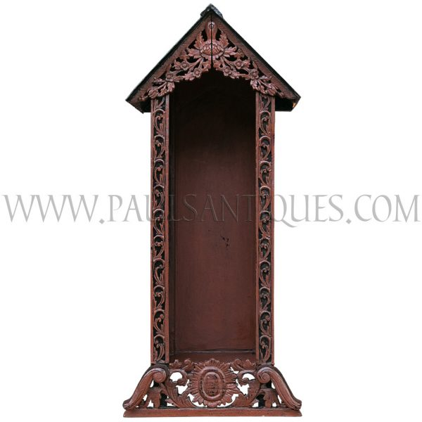 Buddha display cabinet