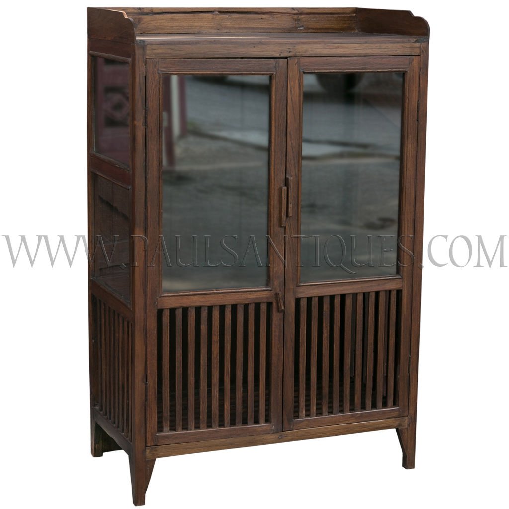Old Thai Teak Kitchen Cabinet Afe