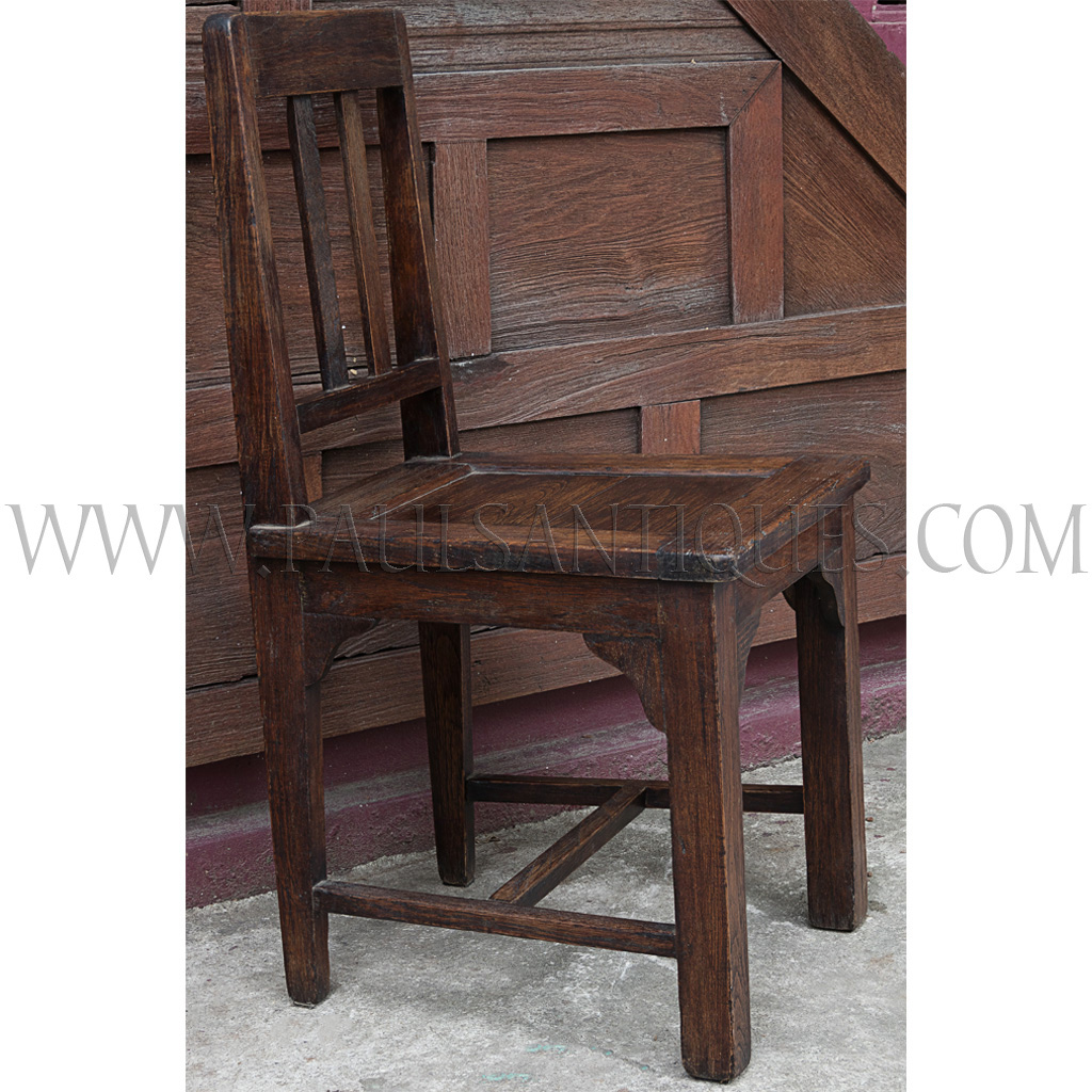 Old Thai Teak Dining Chair
