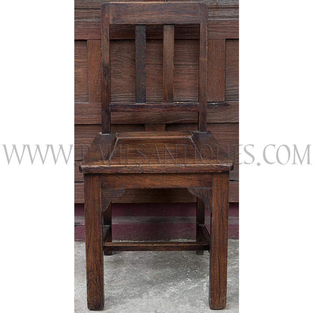 old thai teak dining chair. Black Bedroom Furniture Sets. Home Design Ideas