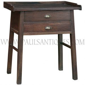 Thai Teak and Rosewood Jeweler's Workbench