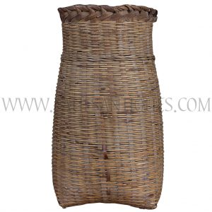 Thai Handwoven Bamboo Container