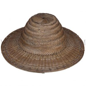 Northern Thailand Hill-tribe Handwoven Bamboo Hat