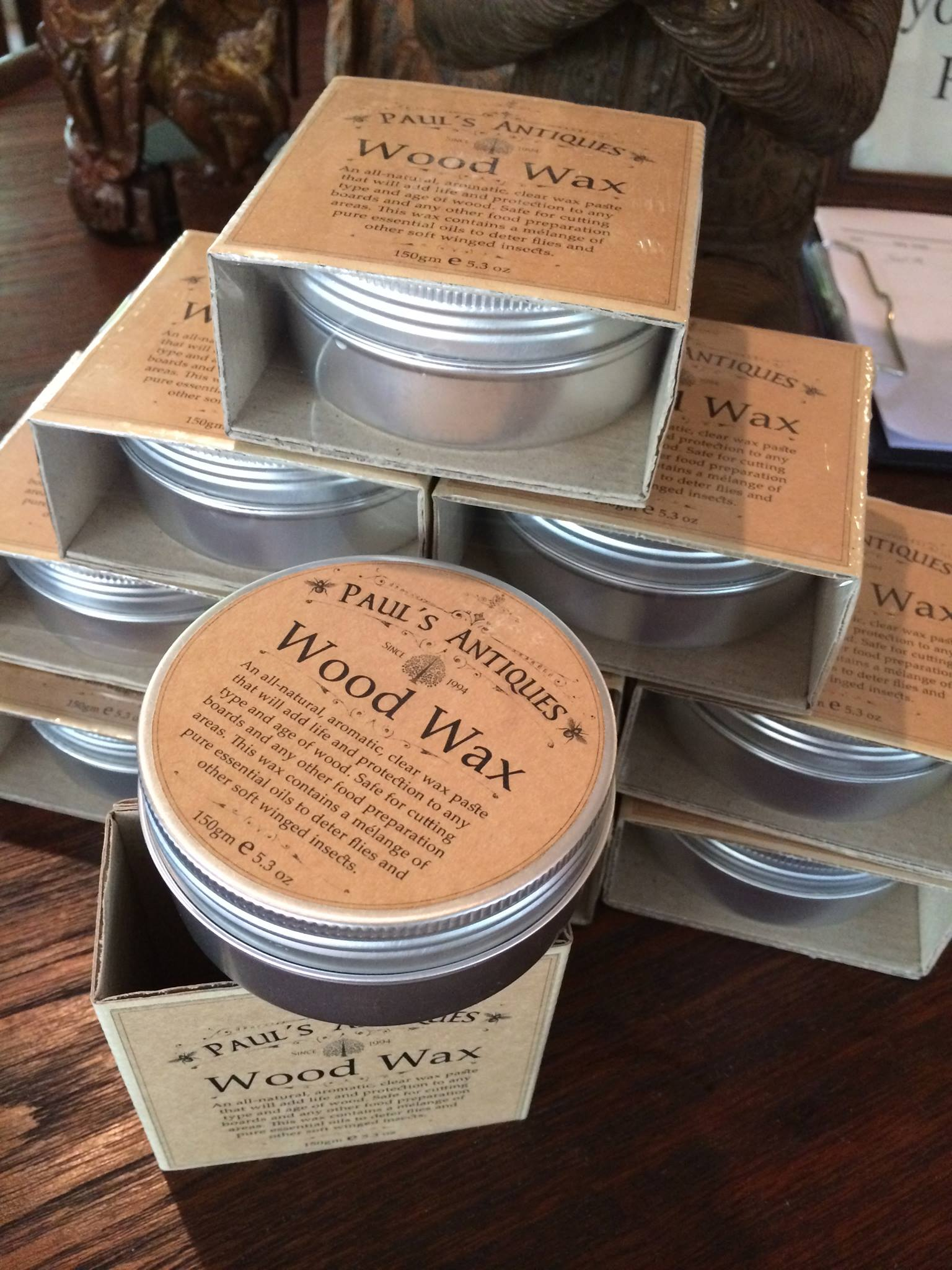 Paul's Antiques Natural Wood Wax