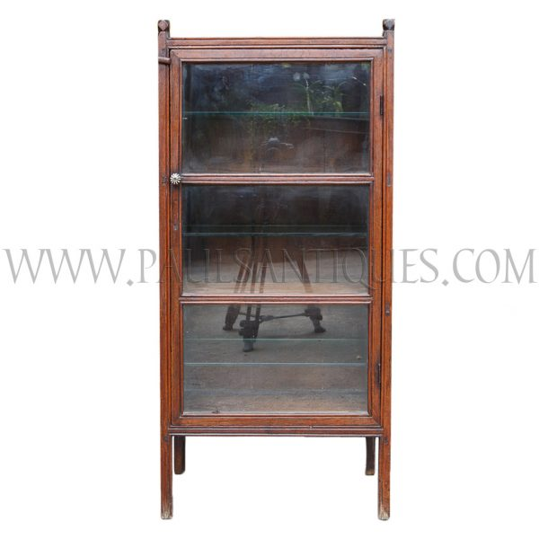 Thai-Chinese Teak Display Cabinet